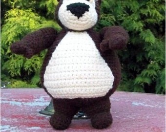 Sampson the Bear PDF Crochet Pattern by CreationsByGems