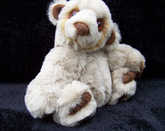 Humphrey OOAK Artist Jointed Teddy Bear Cub With Llama wool details