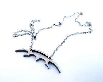 Star Trek jewelry - Klingon bat'leth - Stainless Steel