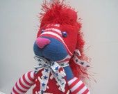 BRIENNE of PERTH, named after a character in the Game of Thrones. She's All American in Stars and Stripes and adorable.