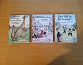 Vintage Set of Three Syd Hoff Story Books
