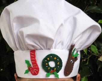 Christmas Chef Hat pattern,chef hat,chefs hat