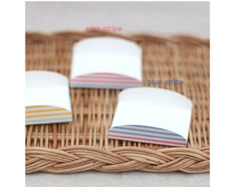 50 Color Stripe Cookie Tray -Pink stripe/Blue stripe/Yellow stripe/Green stripe(swp0188)