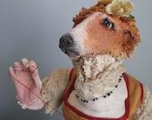 Borzoi Hound Anthro Art Doll & Stop-Mo Maquettte
