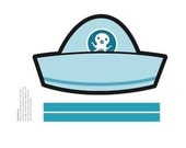 ONE Octonauts Printable Party Sailor Hat