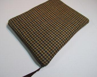 iPad Mini Sleeve iPad Mini Case iPad Mini Cover  Kindle Nook - Nook Color - Nexus 7- Galaxy tab 100% Wool, Men iPadMini Cover, iPadMini 2