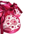 Baby Shoes Pink Lace Pearl Elegant Winter Spring Indoor Soft Soled Baby Shoes Newborn