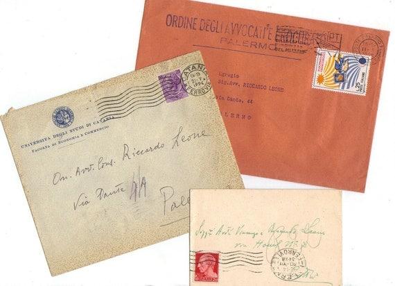 Antique envelopes - set 4