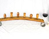 "POMA - ""Pont du Six"" - Wine Bottle Stopper Holder - 100% Recycled"