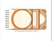 Orange Journaling Pad Lush 2 by My Mind's Eye 18 pcs