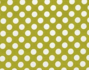 Michael Miller Fabirc - Half Yard Celery Ta Dot