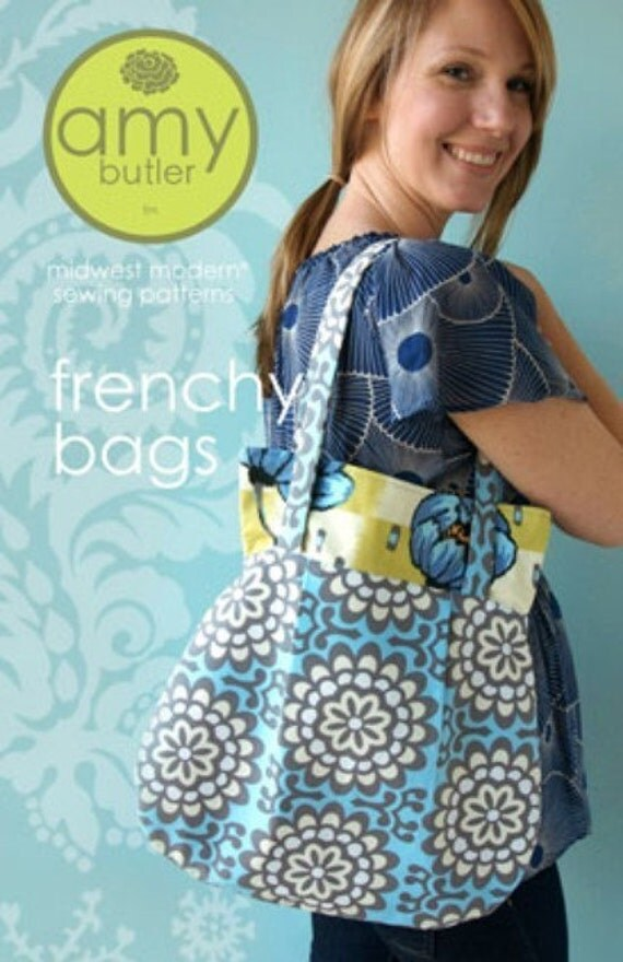 Amy Butler Sewing Pattern Frenchy Bags