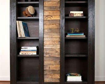 "42"" Morgan cabinet / reclaimed bookshelf"