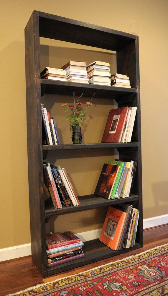 "36"" bookshelf / rustic bookcase"