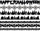 Halloween Images Banner - SVG File pack
