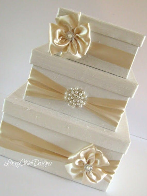 Wedding Gift Card Box Uk : Wedding Card Box Money Box Gift Card Box Holder Custom Made to Order