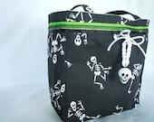 Skeleton Trick or Treat Bag