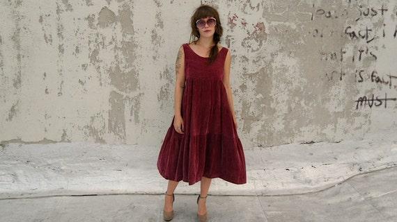 Vintage Stevie Nicks Gorgeous Velvet Maxi Dress