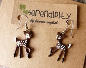 Our Favorite White-Tailed Deer - Bambi Earrings