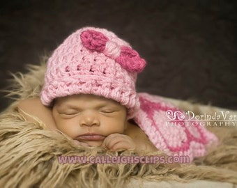 The Original Pink Hatchling Turtle Cuddle Critter Cape Set  Newborn Photography Prop