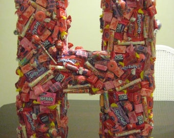 3-D Candy Display used for Party Decoration / Centerpiece/ Table Numbers