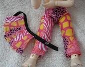 LTF/YOSD Pink Jungle Pant ,1/2 Skirt Set and shirt Set