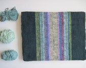 Cotton Handwoven Scarf  - 'Forest Prism'