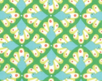 Birds & Berries - Plumes Leaf by Lauren and Jessi Jung for Moda Fabrics - Last Yard