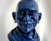 Mahatma Gandhi Sculptural Bust - Be the change you wish to see.