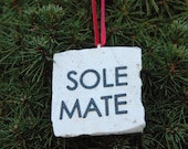 Sole Mate Runner Ornament Tree Hanging