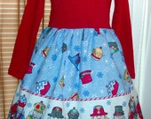 Christmas Nutcracker Holiday Dress Size Small (6/6x)