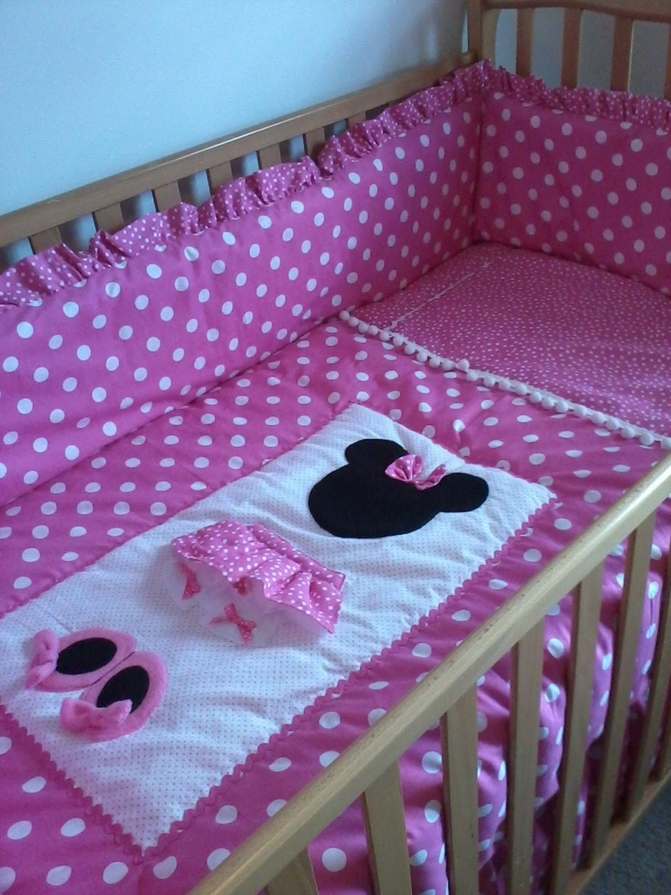 Disney Baby Bedroom Furniture: Minnie Mouse Pretty In Pink Set