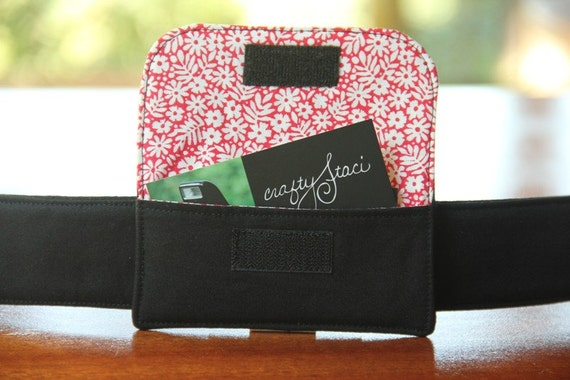 Camera Strap Business Card Pocket - Ready to Ship