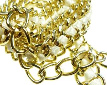 Vintage chain belt 60s