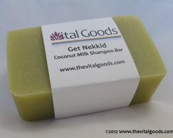 Get Nekkid Coconut Milk Dreadlock Shampoo Bar 4oz