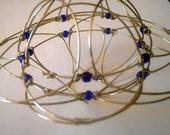Wired Mandala Indigo Logical  Meditation Toy