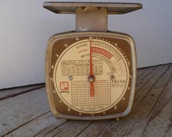 Vintage Pelouze Postal Scale 1975