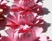 Paper flowers - Peony custom COLOR- set of 12