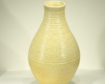 Ceramic Vase, Wood Fired Soda Kiln, Speckled Glaze, Handmade, Home Decor, Gift, MJS, 10