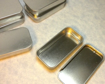 Slider Tins - Smaller size - Use for your Lip Balm Pendants and other Gifts and Goodies - 5