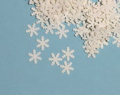 Snowflake Confetti Winter Christmas Snow Holiday 950 Pieces
