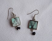 Created By Buggs The Painting Horse - Horse Art Abstract Design Earrings