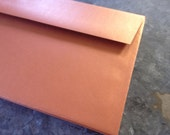 Metallic Copper Envelopes size A9 quantity 25
