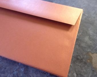 Metallic Copper Envelopes size A9 quantity 20