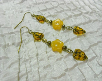 Autumn Earrings, Fall Jewelry, Autumn Jewelry