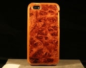 Handmade Wood case for iPhone 5/5S Bubinga burl