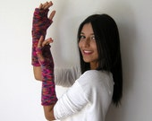 Fall Fashion,winter Accessories,Wrist Warmers,multicolor,fingerless gloves,Christmas gifts