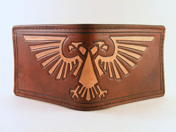 RESERVED ITEM: Aquila Hand Tooled Leather Wallet