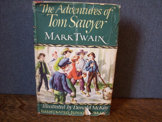1946 Adventures of Tom Sawyer Book