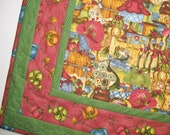Quilted Wall Hanging or Table Topper a Sewers Delight